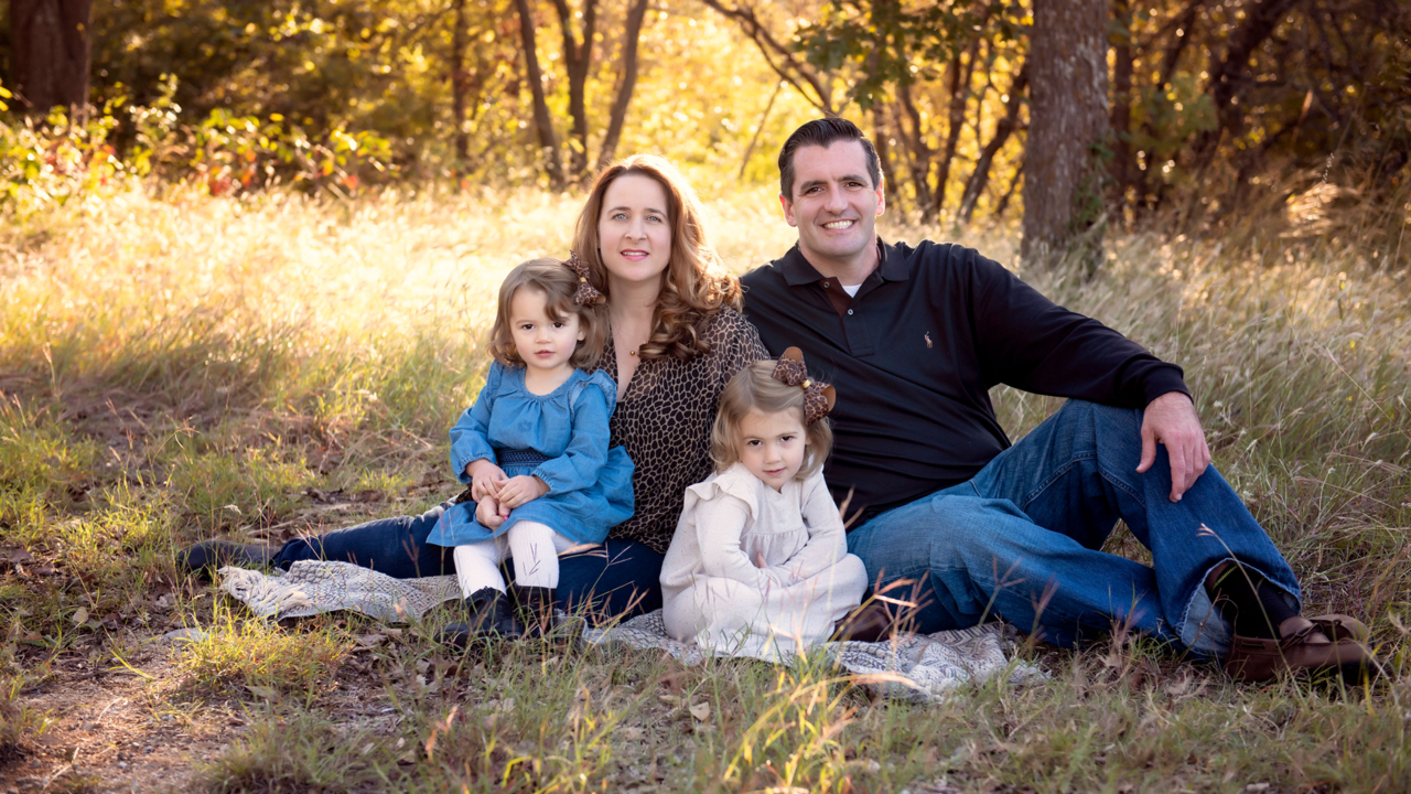 Tulsa dentist - Chris Tricinella and family